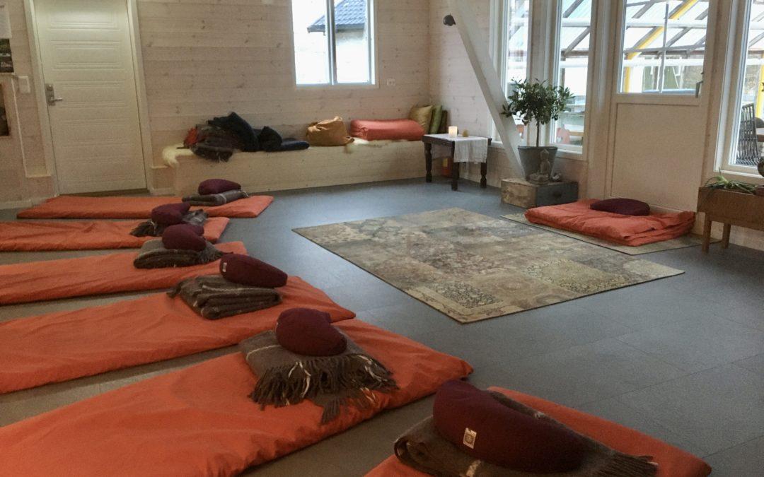 Vinter workshop – yoga & meditasjon