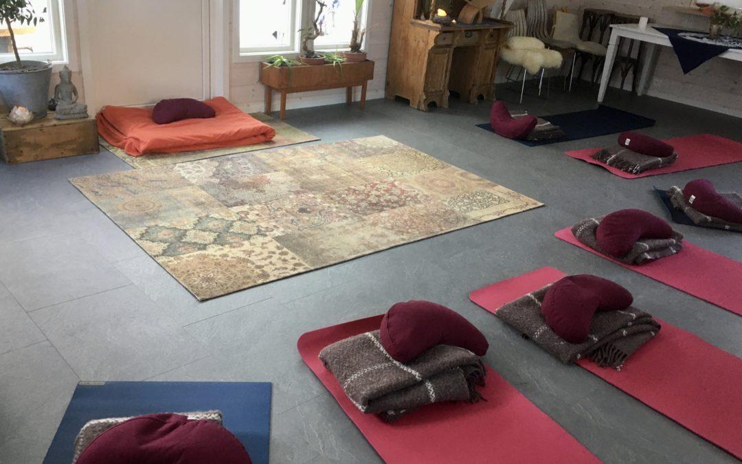 Online yoga – grunnkurs i klassisk yoga